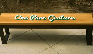 One Pure Gesture